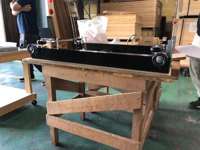 ピラティスリフォーマーの試作2号機の製作